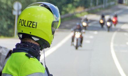 Biker legt sich lang in Leveringhausen