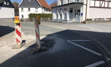 """""""Bogenstraße"""" wieder befahrbar"""