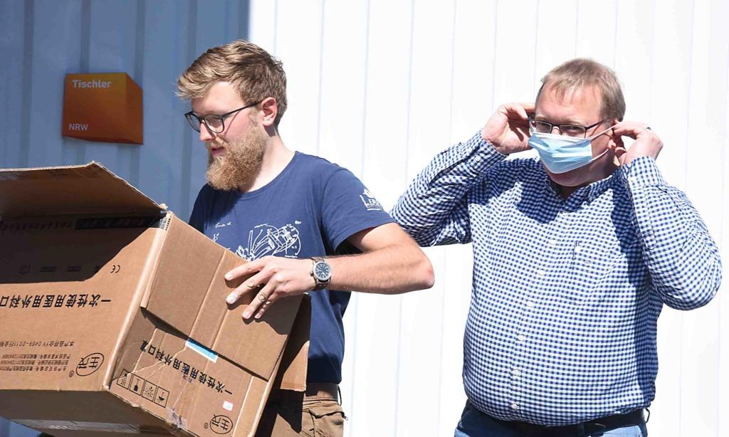 Corona-Krise: 2.000 Masken für die Balver aus Nordhessen