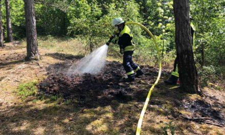 Großeinsatz der Feuerwehr in Eisborn