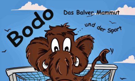"""Neuerscheinung: Mammut """"Bodo"""" wird gerade feste gedrückt"""
