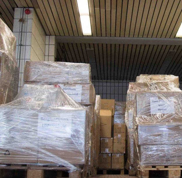 91.000 FFP2-Masken – Schutzausrüstung für Krankenhäuser