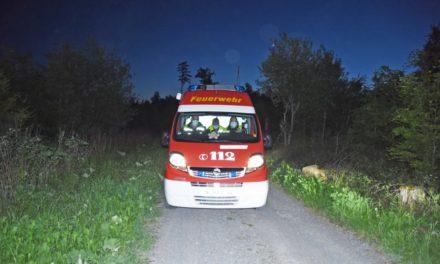 EILMELDUNG: Feuerwehr findet schwer verletzten Mountainbiker im Balver Wald