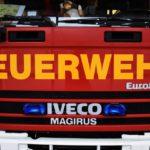 Illegale Feuerstelle abgelöscht – 30-Jähriger im Krankenhaus