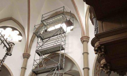 Gefahrenabwehr in St.-Blasius-Kirche Balve