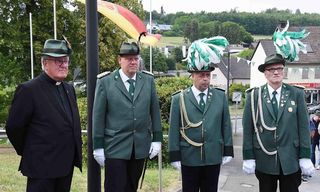 Schützenbruderschaft Beckum lädt zur Hl. Messe unter freiem Himmel
