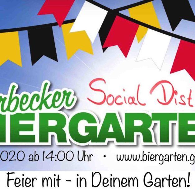 """Fußball-Fan-Clubs laden zum Garbecker Social Distance Biergarten ein – """"Feier mit in Deinem Garten"""""""
