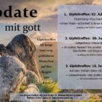"""Donnertag """"update mit gott"""""""