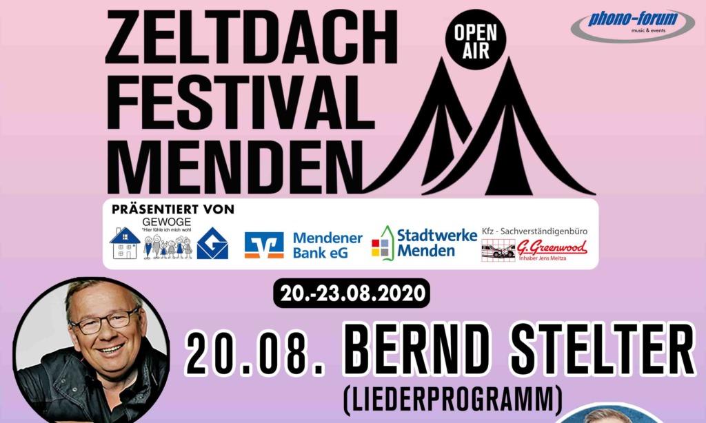 Premiere Zeltdach-Festival Menden– Mix aus Comedy und Musik zaubert Besuchern ein Lächeln auf die Gesichter