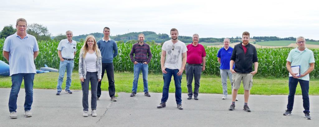 Luftsportverein Sauerland blickt auf erfolgreiches Jahr zurück