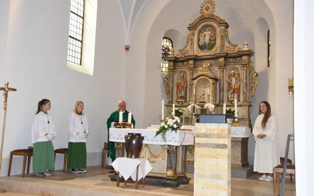 St.-Nikolaus-Kirche Beckum erstrahlt in neuem  Glanz