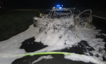 Taxi ausgebrannt