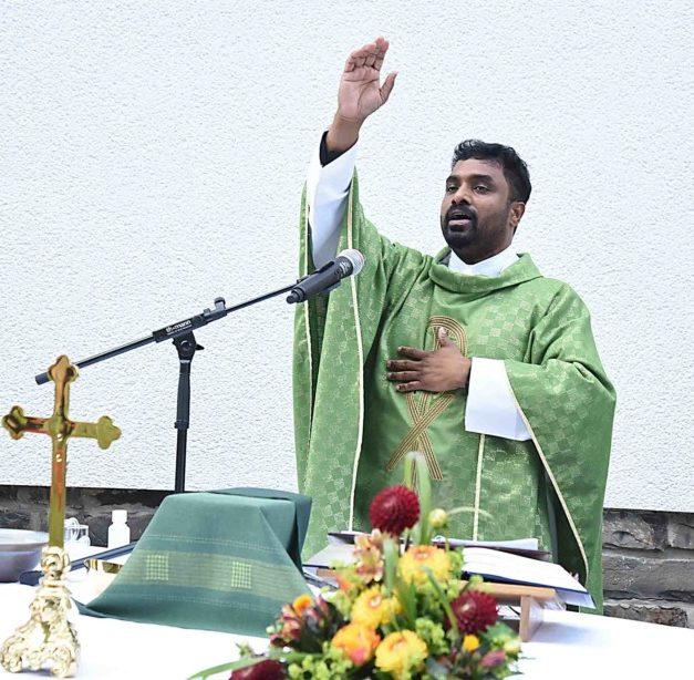 Pater Pius Sabu wird neuer Präses in Mellen