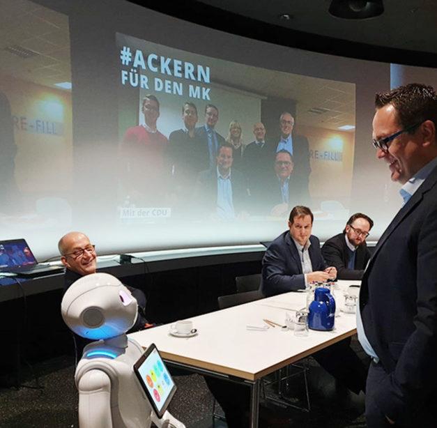 Marco Voge will als Landrat Innovationspreis ins Leben rufen