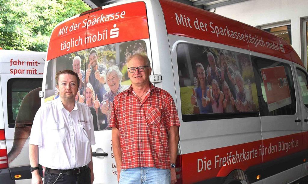 """Bürgerbus fährt auch zum """"Heimathafen"""" und Baumarkt Arens & Hilgert"""