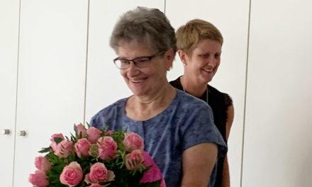 Bundespräsident gratuliert der Beckumerin Elfi Allefeld mit dem höchsten Orden der Bundesrepublik Deutschland