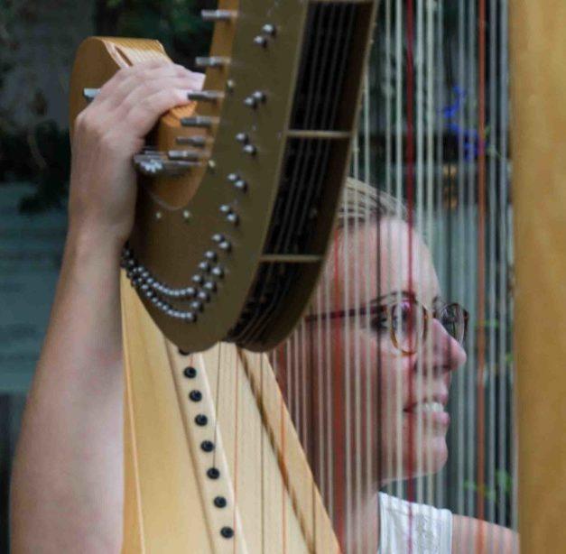 Luise royal – Führung mit exklusivem Harfenkonzert vor Hochofen