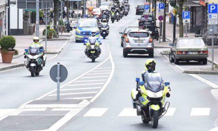BIKER-DEMO: Polizei zieht positives Fazit