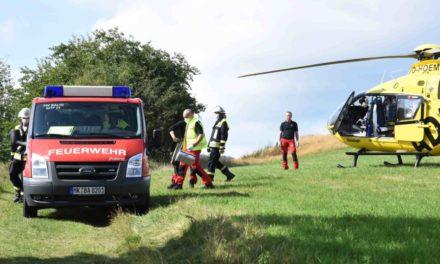 Hubschrauber fliegt Garbeckerin in Spezialklinik
