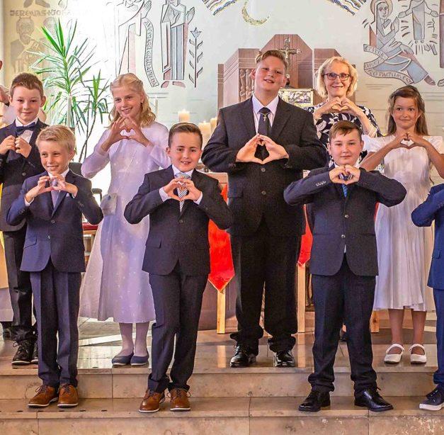 IMPRESSIONEN: Erstkommunion in Garbeck – Von Herz zu Herz
