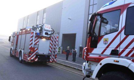 Feuer in der Firma Muschert & Gierse