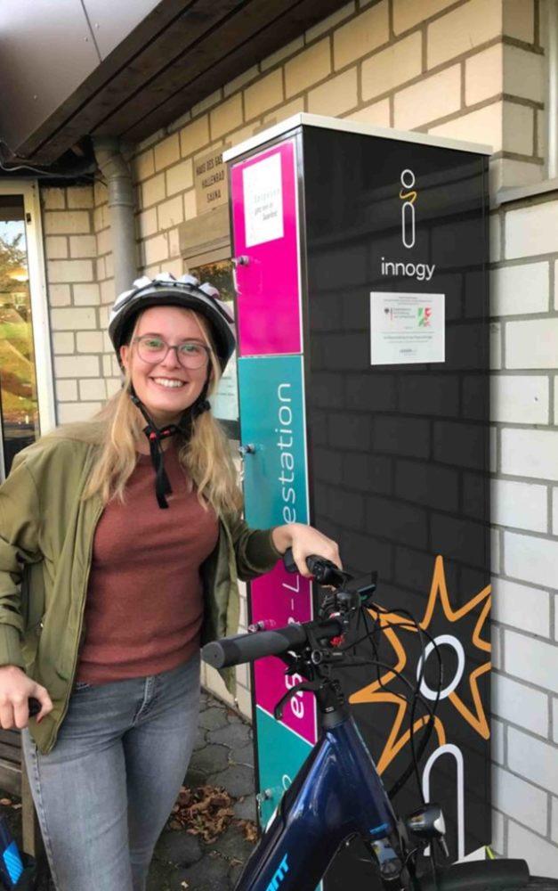 Vier neue E-Bike-Ladeschränke am Sorpesee