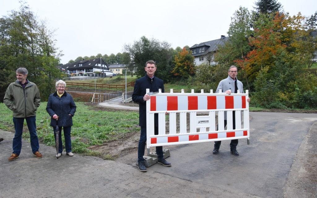 Viel Lob für neuen Rad- und Fußweg in der Hönne-Aue