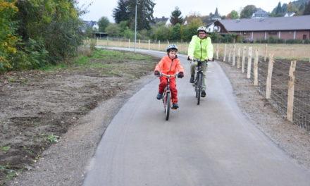 IMPRESSIONEN vom neuen Rad- und Fußweg in der Hönne-Aue