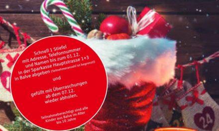 Ho, ho, ho …Nikolaus-Aktion 2020 in Balve