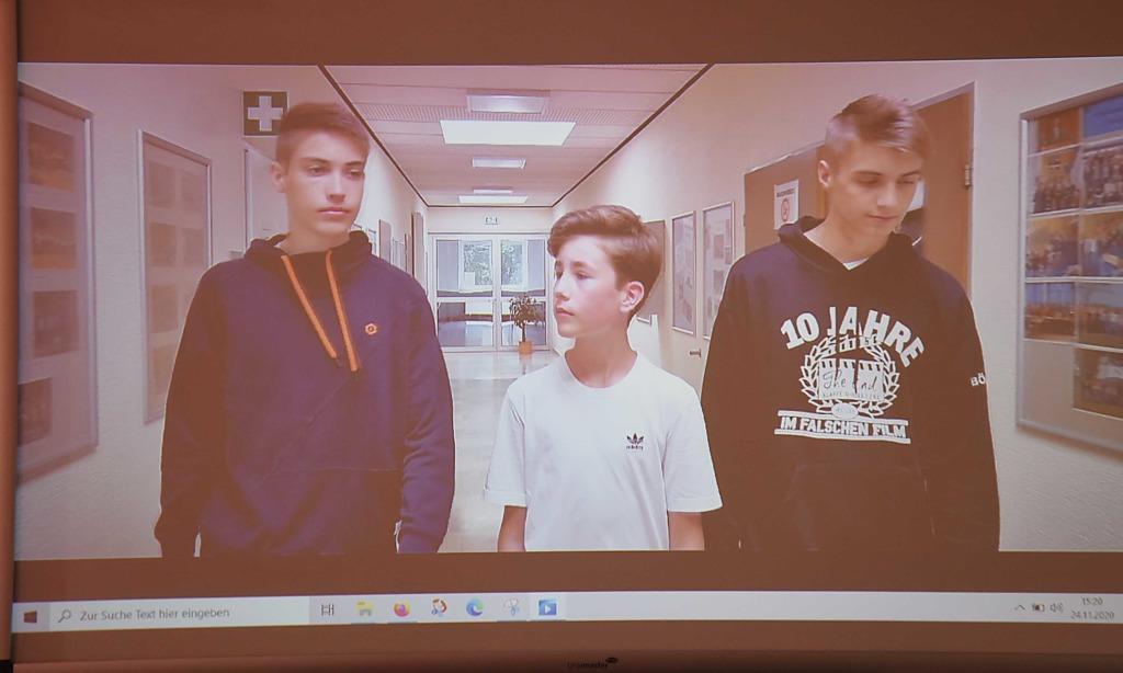 Filmemacher Marlon Tolle und seine drei Freunde feiern Comeback in der Realschule
