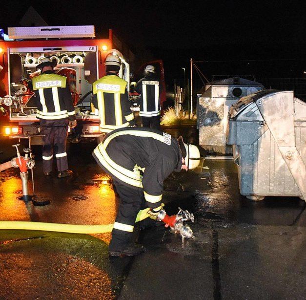 Ehrenamtlicher Einsatz der Feuerwehren aus L.A. und Balve in Farbe