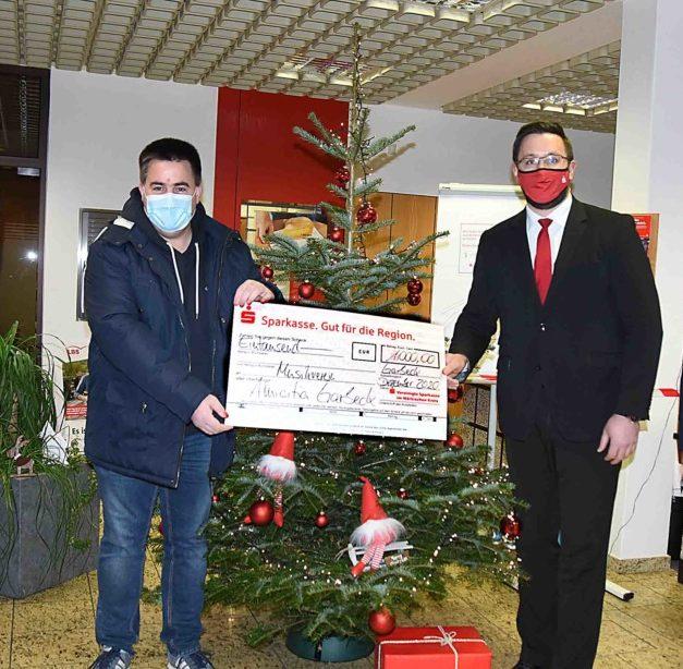 Tolles Weihnachtsgeschenk für Musikverein Garbeck