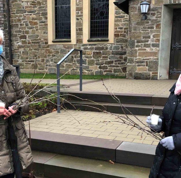 Garbecker KFD-Frauen ehren Hl. Barbara mit Wort-Gottesdienst