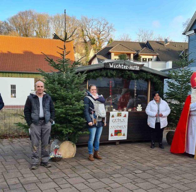 """Balver Werbegemeinschaft rückt """"Geben-und-Nehmen-Hütte"""" in den Fokus"""