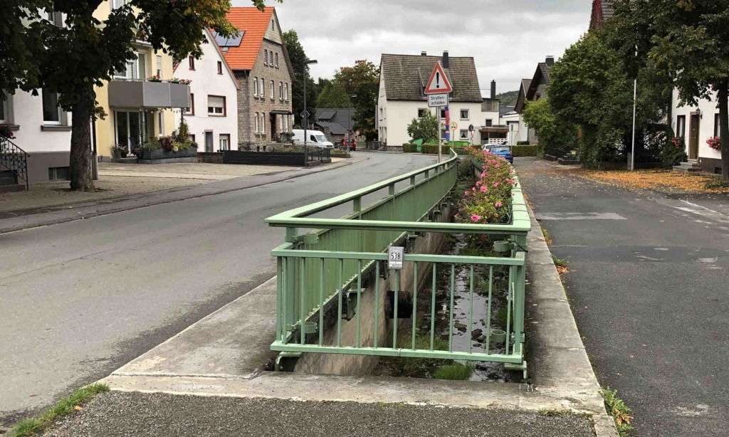 """Ortsvorsteher """"Immel"""" Haarmann informiert über Neugestaltung der Dorfmitte Garbeck"""
